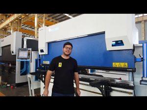 6-оси CNC преси спирачка Euro Pro B32135 с Wila Clamping System чрез австралийски клиенти