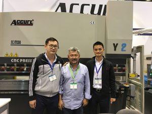 Accurl участва в изложбата за машиностроенето в Чикаго и изложението за индустриална автоматизация през 2016 година