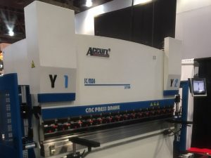Акурл участва в изложението за машини в Лас Вегас в САЩ през 2016 г.