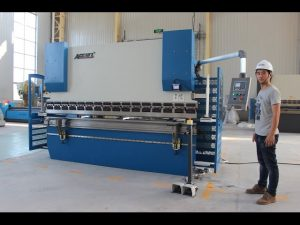 CE 2-ос CNC Прес спирачка 130Tx3200 E200 NC Система за контрол NC Press Brake Machine