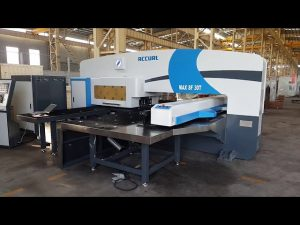 CNC серво задвижване овен оръдейна кула натиск натиснете 50 тона за серво CNC щанцоване машина
