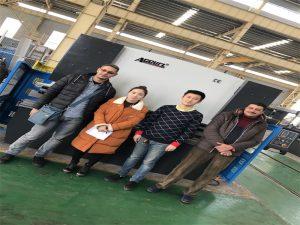 Клиентите на Египет купуват пресоваща спирачна машина от фирмите Accurl
