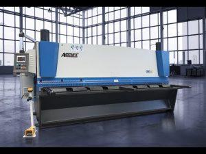 Хидравлична машина за рязане на гилотини MS8 8x4000mm с германия ELGO P40T сензорен екран CNC