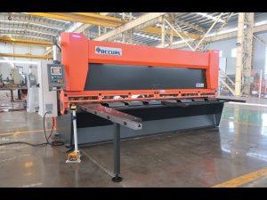 Главна променлива рейка с CNC хидравлични ножици за гилотини MS8-10x4000mm