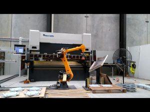 Роботизирана CNC пресова спирачка за роботизирана огъваща клетъчна система