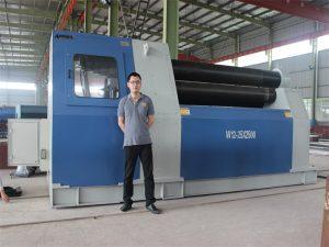 Тайландски клиенти купуват машина W12 Rolling от Accurl Company