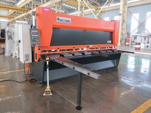 QC11y K-4X2500 листова стоманена хидравлична листова машина за шлифоване на желязо