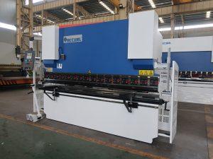 WC67Y хидравлична преса за спирачки, медна шина за огъване машина, CNC огъване машина