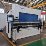 WC67Y-80T / 2500 80T стоманена ламарина CNC пресова машина