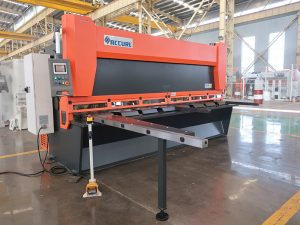 гореща продажба QC11K CNC хидравлична гилотина срязваща машина