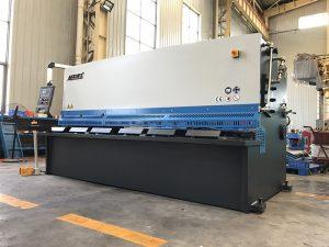 добро качество cnc хидравлична машина за рязане на желязна плоча