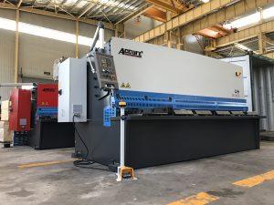хидравлична машина за рязане 12 мм машина за рязане на стоманени плочи 2500 мм