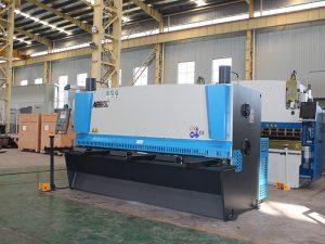cnc хидравличен метален лист ножица машина, хидравлична листорез машина, QC12y-4X2500 E21s