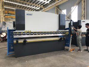 30T хидравлична машина за огъване, пресоваща спирачка за огъване на листова плоча с управляваща система DA41