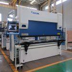 Wc67y-125t / 2500 хидравлична машина за прегъване на листови прес спирачки с добра цена