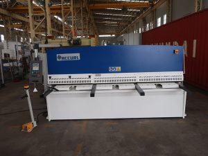 cnc e21S QC12Y-6 × 3200 хидравлична срязваща машина