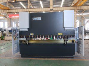 машина за огъване на плочки Wc67y 100t 3200 CNC неръждаема стомана хидравлична преса